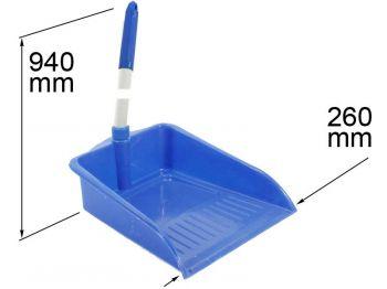 Совок для мусора с длинной ручкой (К)
