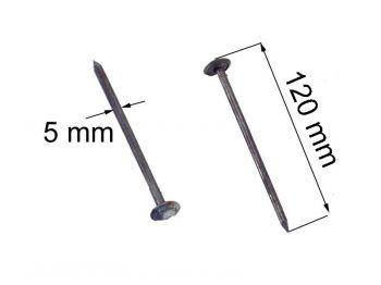 Гвозди шиферные (ящик 10 кг)
