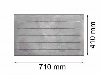 Плита  глухая 410х710 КБ
