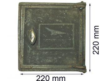 Дверца топочная ДТ-2 К Чр (А)