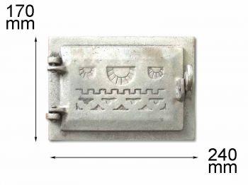 Дверца поддувная  ДП-1 КЧр (А)
