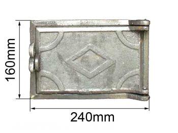 Дверца поддувная ДП-1 КБ