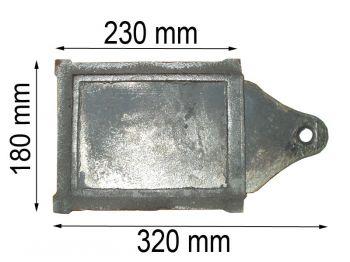 Задвижка 320*180мм К (А)