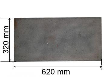 Плита глухая 320х620мм средняя (08) К Чр