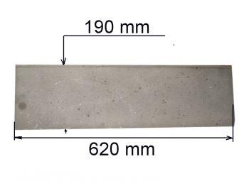 Плита глухая 190х620мм К (А)