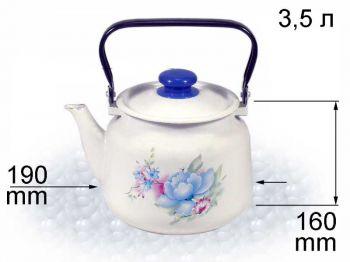 Чайник 3,5л с рис. В2713/2 Нов
