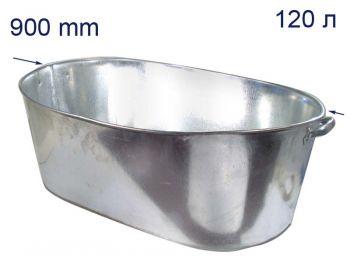 Ванна оцинкованная 120л Дн-ск