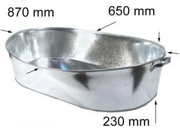 Ванна оцинкованная 75л Дн-ск