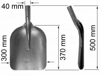Лопата  ЛФС (фасонная специальная) К