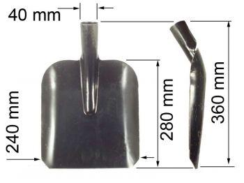 Лопата  ЛСП (совковая песоч) К