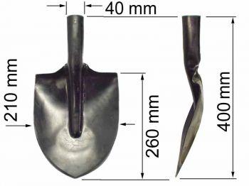 Лопата  ЛПК (подборочно-копальная) К