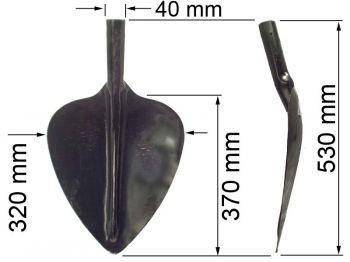 Лопата  ЛПР (породная) К