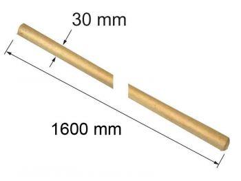 Черенок 1,6 м (для граблей)