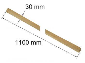 Черенок 1,1 м (для граблей)