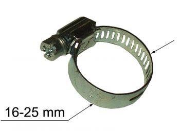 Хомут металлический д/шланга 16-25мм