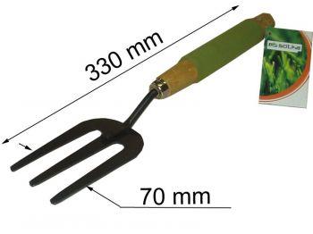 Вилка посадочная метал.SOFT c комб. д/ручк 7438(A)