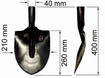 Лопата  ЛПК (подборочно-копальная) ТМ