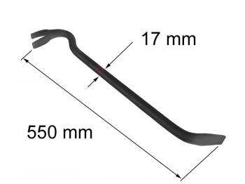 Гвоздодер L=550мм