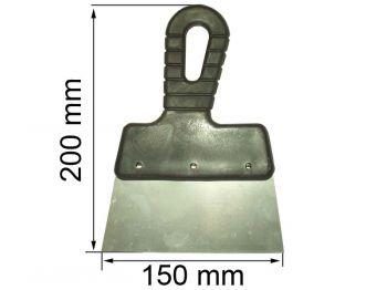 Шпатель 150 мм (пл. ручка)
