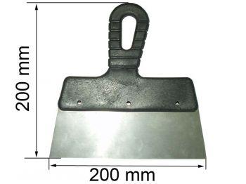 Шпатель 200 мм (пл. ручка)