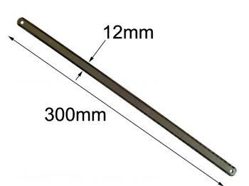 Ножівкове полотно L 300 мм двостороннє