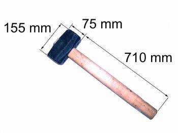 Кувалда 6кг с ручкой
