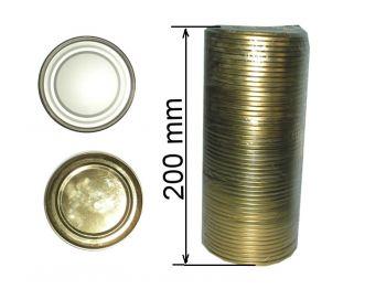 Крышка закаточная Панночка (50шт) лак-эмаль