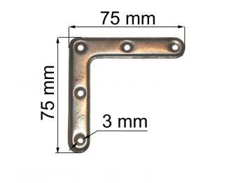 Угольник 75 мм