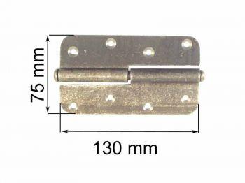 Петля ПН 1-130 черная правая