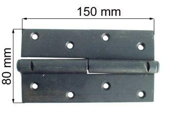 Петля ПН 1-150 черная левая