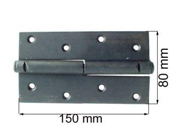 Петля ПН 1-150 черная правая
