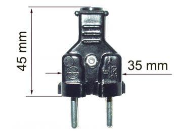 Вилка электрическая В6-095