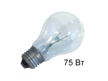 Лампочка электр. 75 Вт