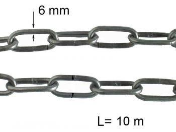 Цепь хозяйственная ОН, 4мм (10м)