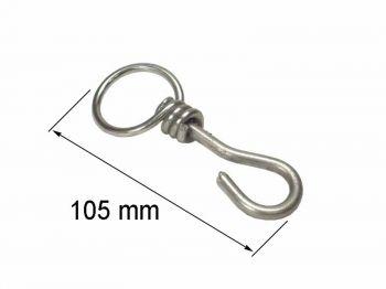 Коловорот-крючок для цепи