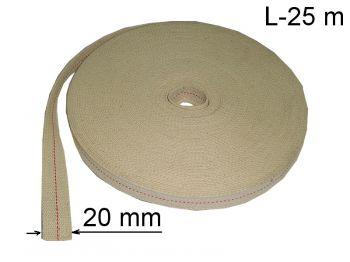 Фитиль для керосиновых ламп (бухта 25 м)