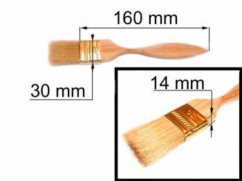 Кисть флейц 30х14мм