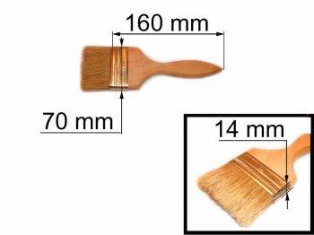 Кисть флейц 70х14мм