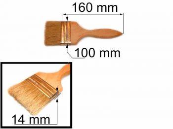 Кисть флейц 100х14мм